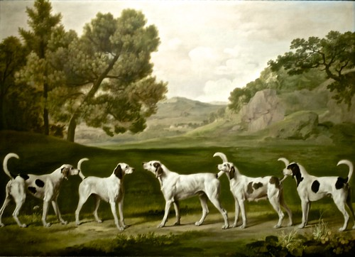 Five of Lord Rockinghams dogs (England 1762) - George Stubbs (1724 - 1806) | by pedrosimoes7