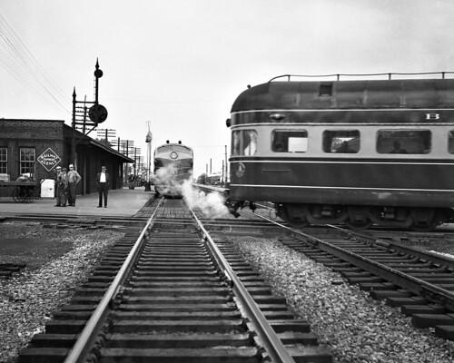 B Amp O Deshler Ohio 1952 Baltimore Amp Ohio Trains Meet At