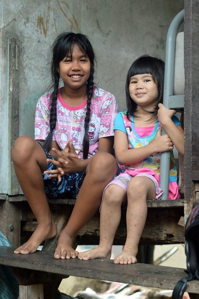 Foreign girls in bangkok
