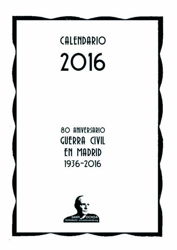 Calendario 1936.Calendario 2016 G Civil Madrid Ene 2016 Flickr