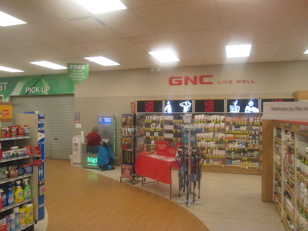 gnc at rite aid coudersport pa january 2016 flickr
