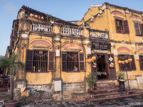 Restaurant on a Charming on Building - Hoi An, Vietnam.jpg | by SWTRIPS