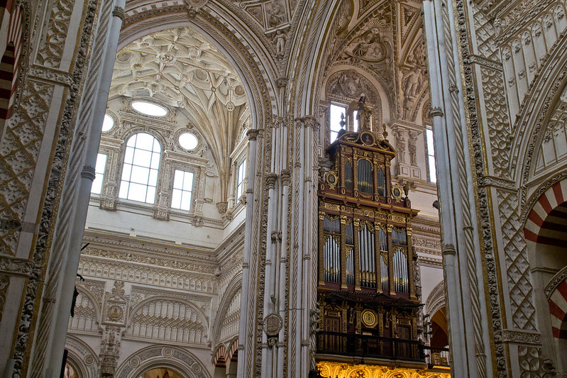 Cathedral inside the Mezquita, Cordoba, Spain | packmeto.com