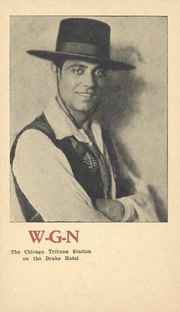WGN The Chicago Tribune Station on the Drake Hotel - Chicago, Illinois