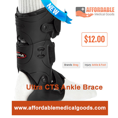 Ultra CTS Ankle Brace - Affordable Medical Goods | by Affordable Medical Goods