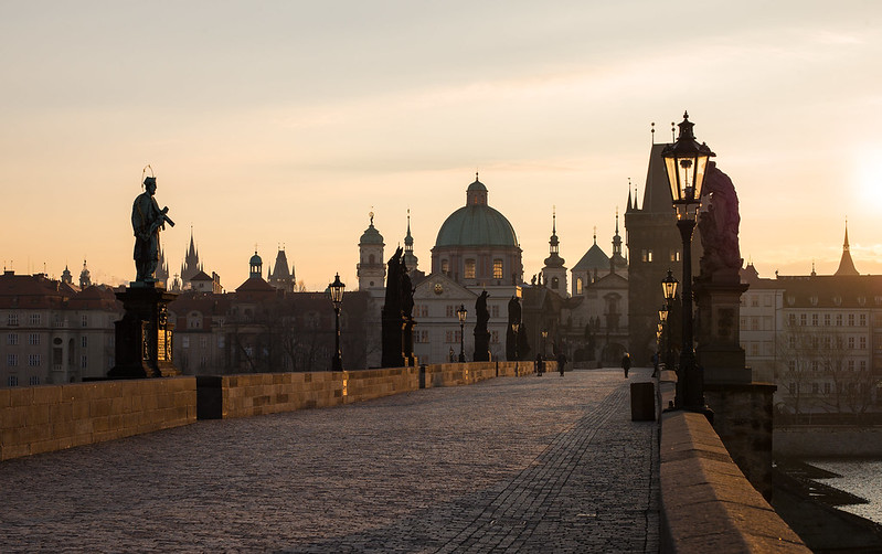 Zlate rano, Praha