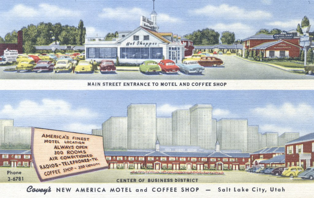 Covey's New America Motel & Coffee Shop - Salt Lake City, Utah