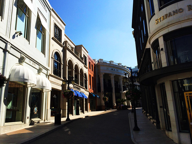 Rodeo Drive, Los Angeles, CA, US