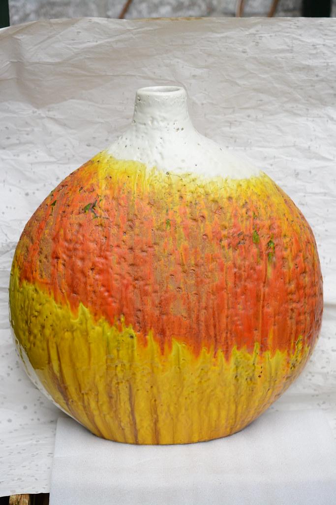 Marcello Fantoni Vase A Xl Ceramic Vase By Marcello Fanton Flickr