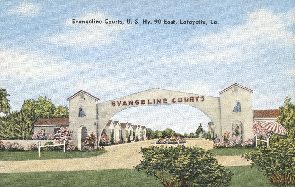Evangeline Courts - Lafayette, Louisiana