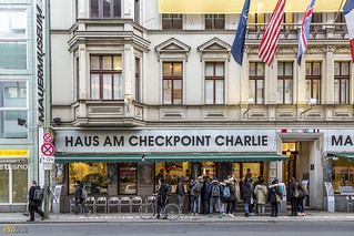 checkpoint charlie berlin 21 | by Eva Blue