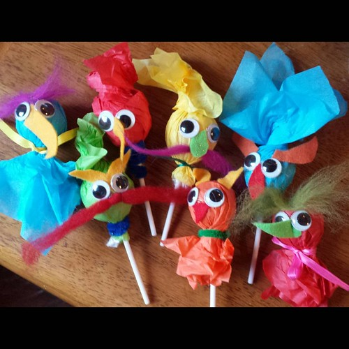 Muppet Goblin Lollipops | by SarabellaE / Sara / Love in the Suburbs
