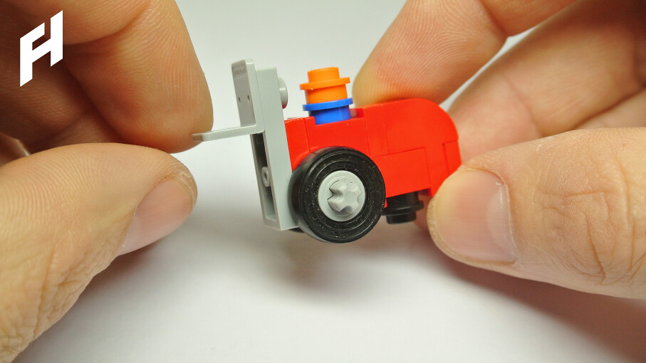 How To Build A Microscale Lego Forklift Moc Youtu1dx