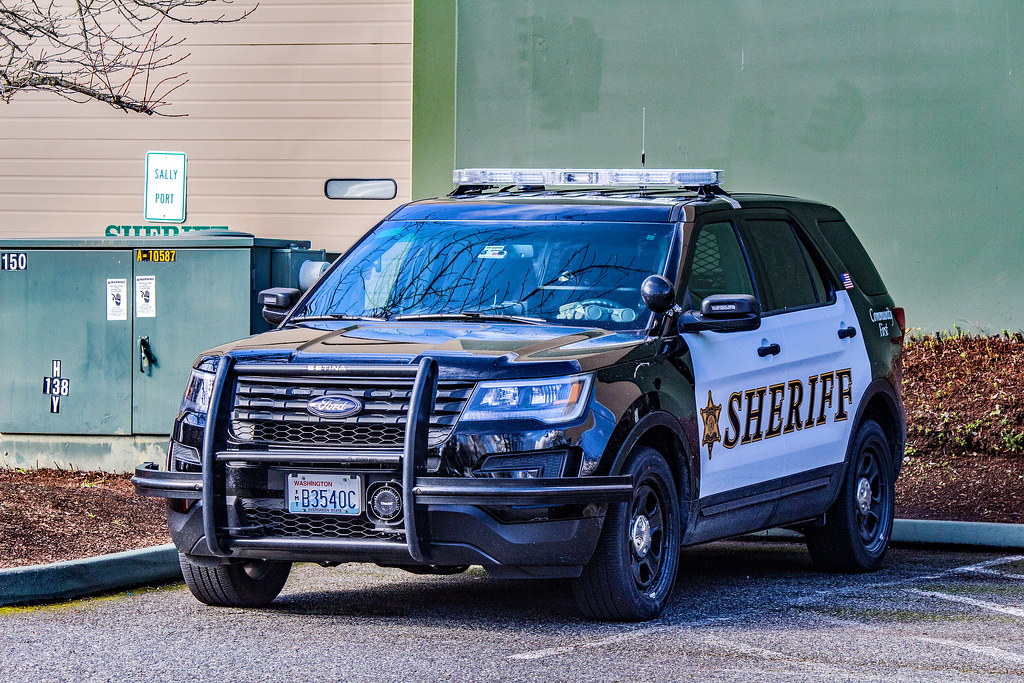 Snohomish County Sheriff S Office 2016 Ford Police Interce Flickr