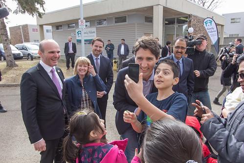 Prime Minister Trudeau's Visit