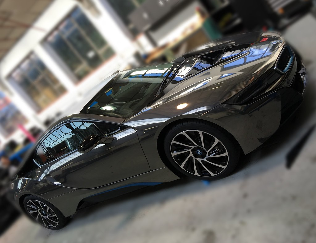 Bmw I8 Black Chrome Wrap Creative Fx London 2 Creative Fx Www Fxuk