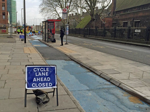 Cycle Superhighway 2, February 2016 | by diamond geezer