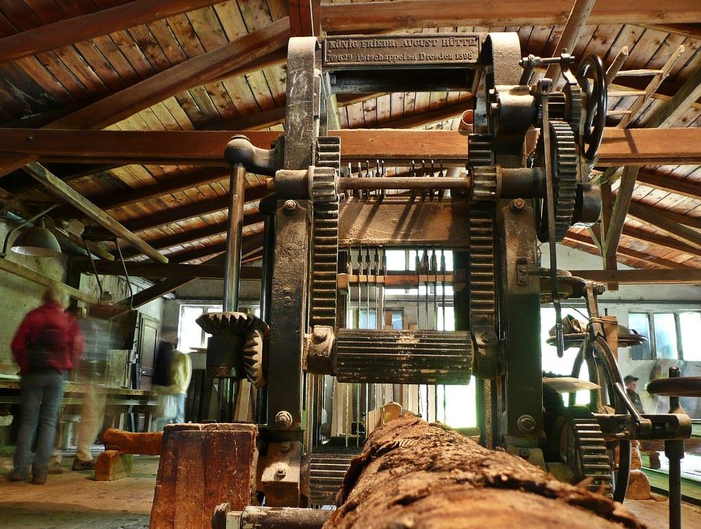 Bährmühle Bad Gottleuba - Gattersäge von 1898 | Die 1388 ers… | Flickr