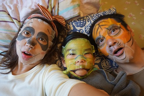 face mask family 5 | by Mochachocolata-Rita