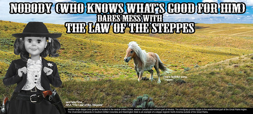 The Law of the Steppes #2 | by iamtalkytina