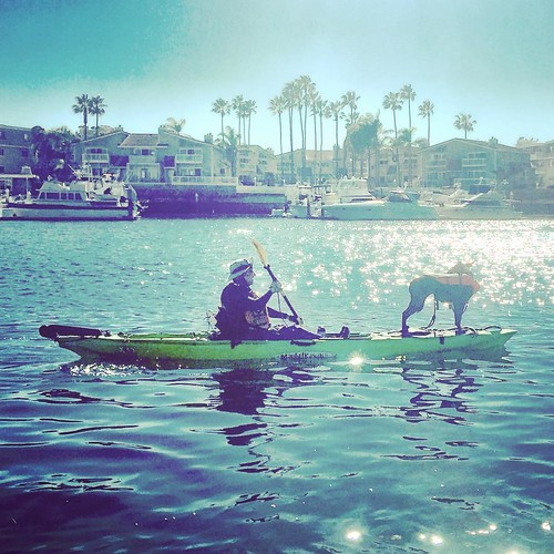 #kayaking with X-13 #dogsofinstagram #dogonkayak | by malibukayaksinc