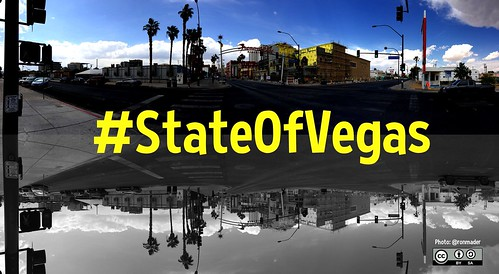 #StateOfVegas is the hashtag for the January 7, 2016 presentation of Las Vegas' State of the City @mayoroflasvegas @CityOfLasVegas