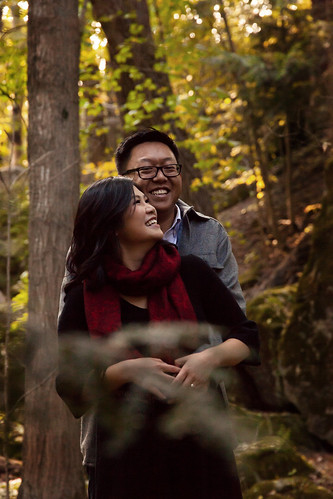 Rita & Chris | Ball's Falls Artistic Story Telling Engagement Photography | by zoeyheath.com