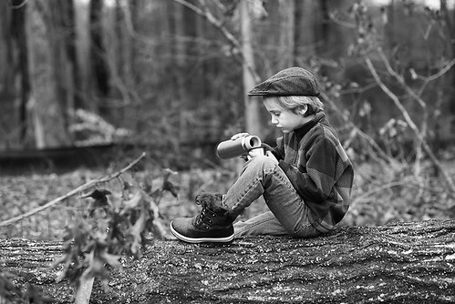 boy in woods 03-750 | by -kimcunningham