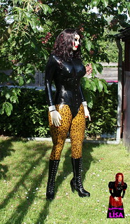 A Doll In The Garden   By Rubberdoll_lisa1 ...