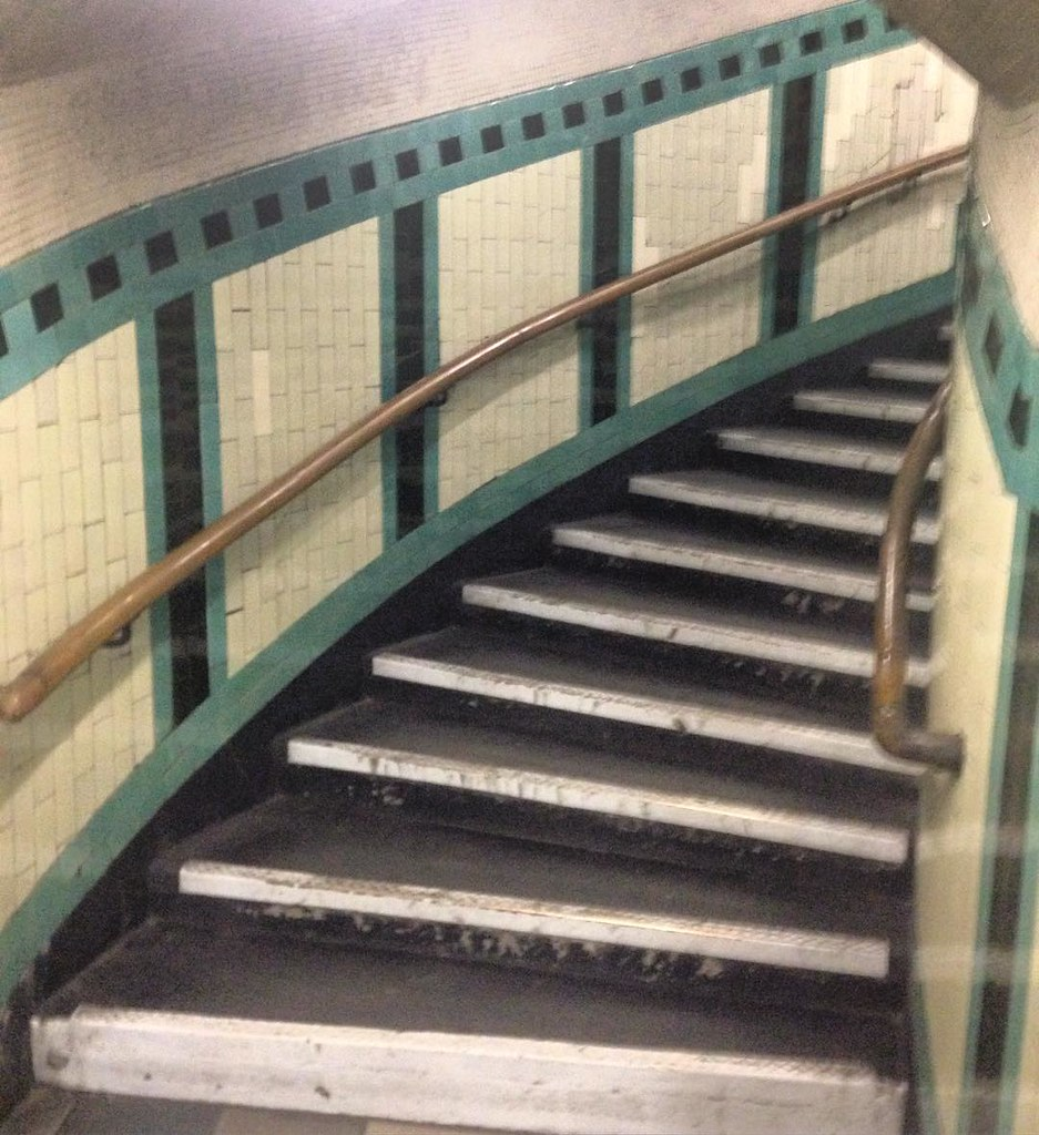 ... 15 Story Spiral Stair In The Russell Square Tube Station | By Ethan Hein