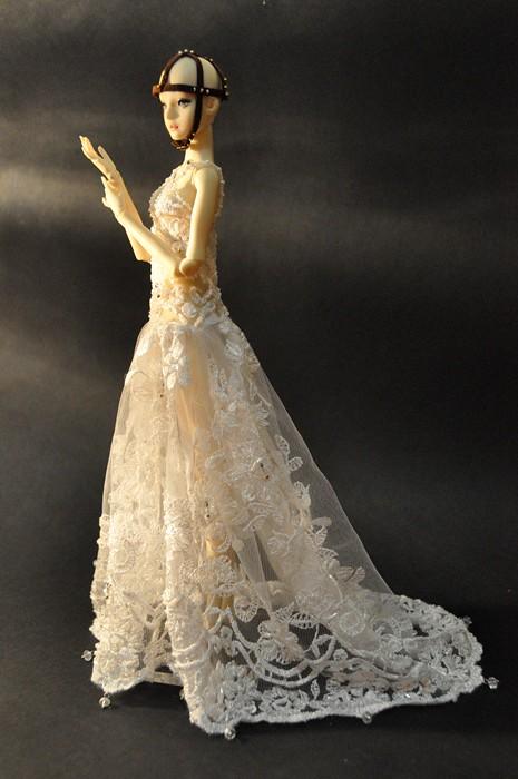 161 1 Bride Of Frankenstein Dress For Marina Bychkova E Flickr