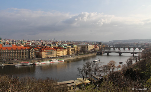 Prague and the Vltava River | by mlanza