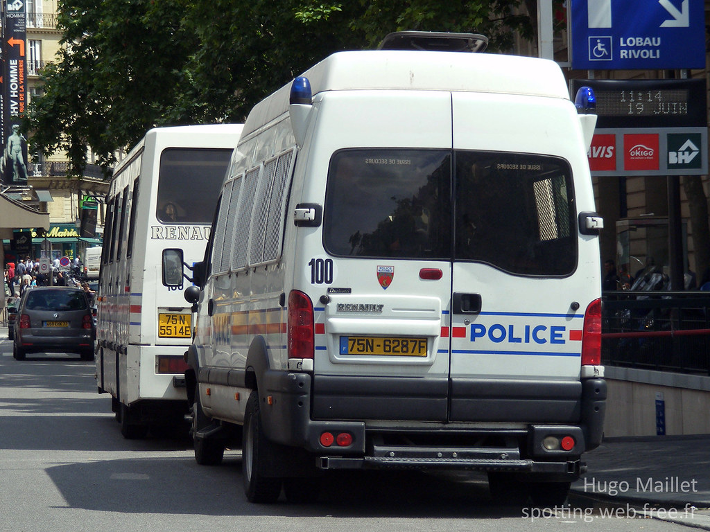 police nationale renault mascott renault mascott compag flickr
