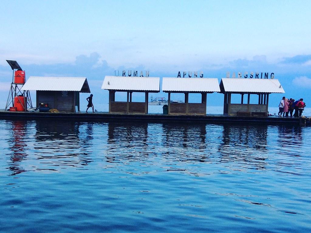 Wisata Rumah Apung Pantai Brangsing Banyuwangi Jawa Timur By Didisadili