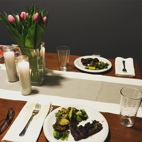 Quick and simple romantic dinner for two to celebrate our for Quick romantic dinner ideas for two