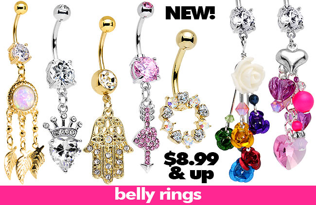 New Belly Button Rings Body Candy Body Jewelry Flickr