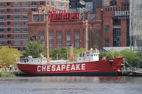 Lightship Chesapeake - Inner Harbor (Baltimore, Maryland) - July 31, 2015