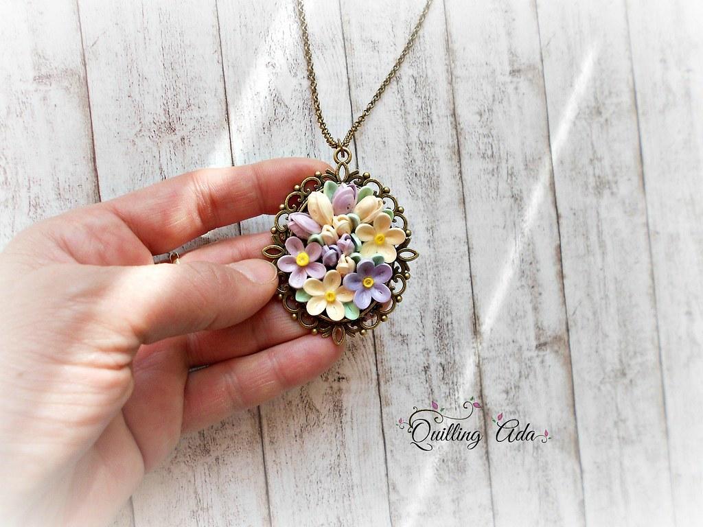 Quillingpaper Flowersjewellery Facebook Facebook Flickr