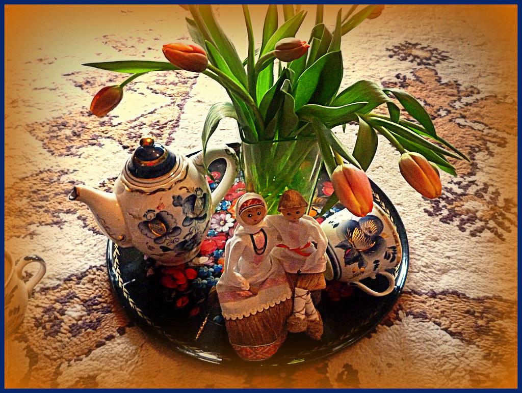 Meine Bunte Welt Liebe Grusse Und Wunsche Zum Valent Flickr
