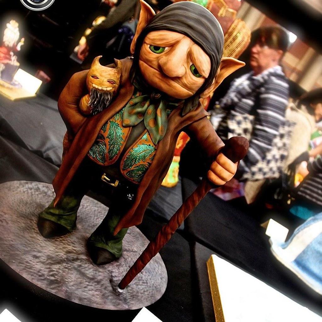 Fantasy Creature at Cake International 2016