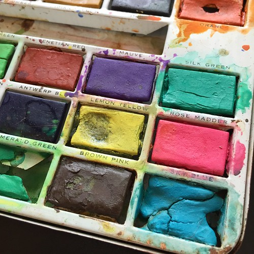 vintage watercolors | by How To Make Art