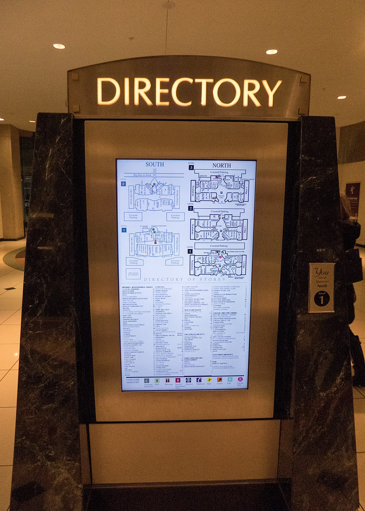 Somerset Mall Map Somerset Collection Directory | One of the newer digital dir… | Flickr Somerset Mall Map