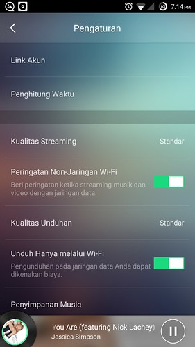 JOOX Setting Panel | by BangDude1