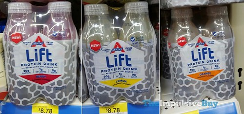 Atkins Lift Protein Drink Nutrition Facts