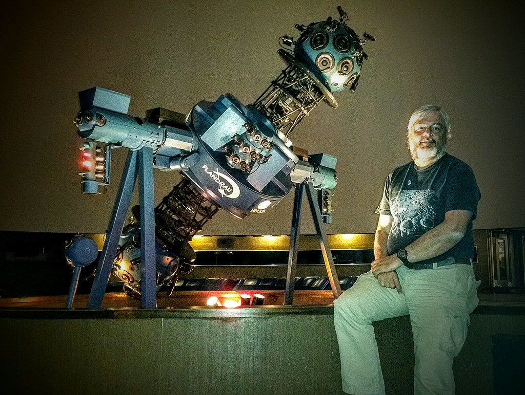 flandrau planetarium minolta series iv star projector reti flickr