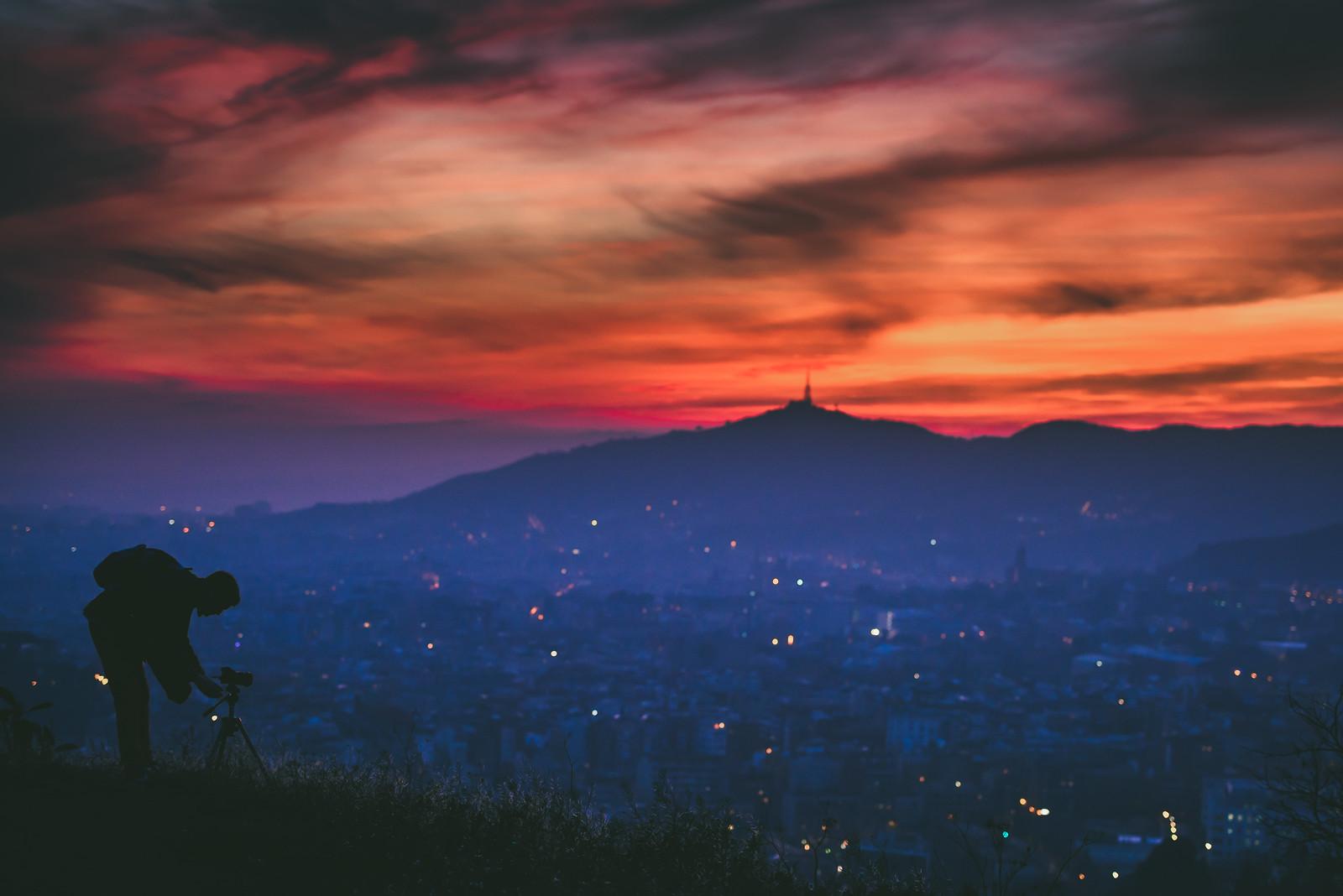 Photographer Silhouette | Barcelona 2015 #359/365