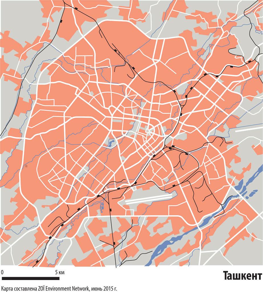 Tashkent city map Flickr