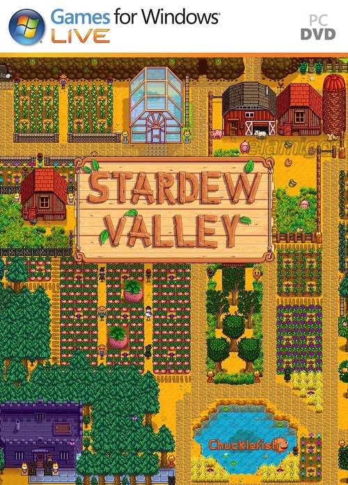 Stardew Valley pc dvd-ის სურათის შედეგი