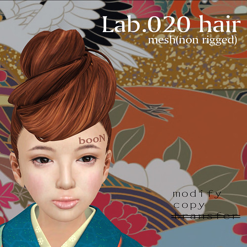 booN Lab.020 hair