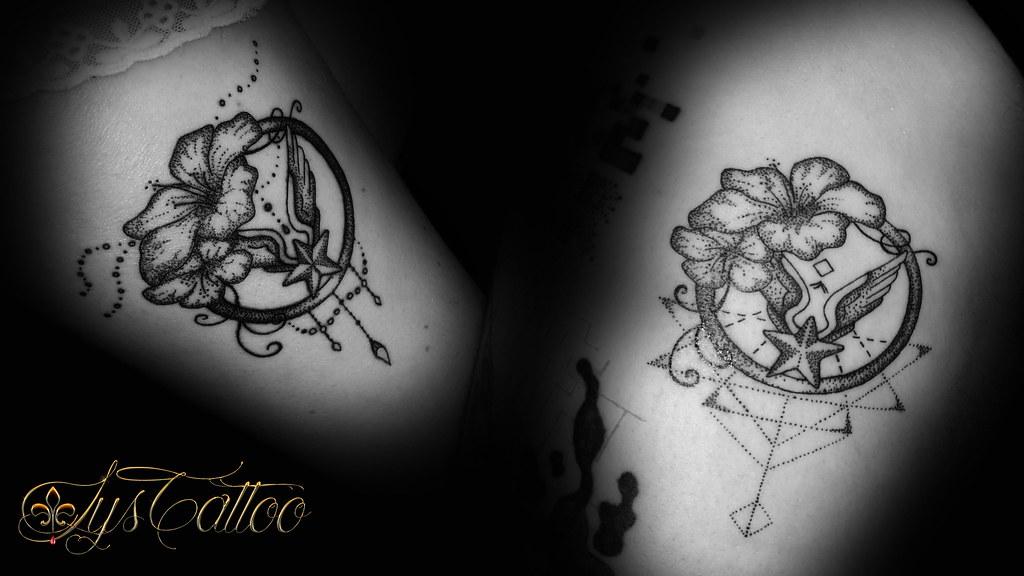 Duo Tatouage Frere Et Soeur Tattoo Symbole Militaire Et F Flickr